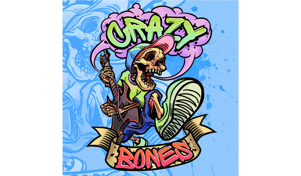 crazy bones CDジャケット