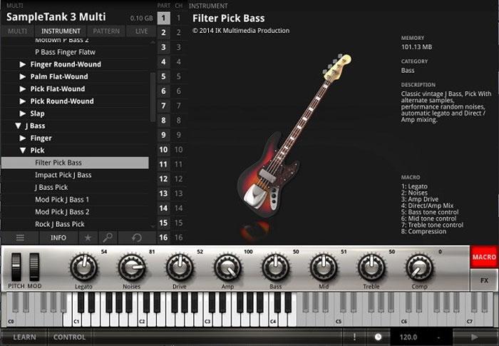 DTM  ベース bass