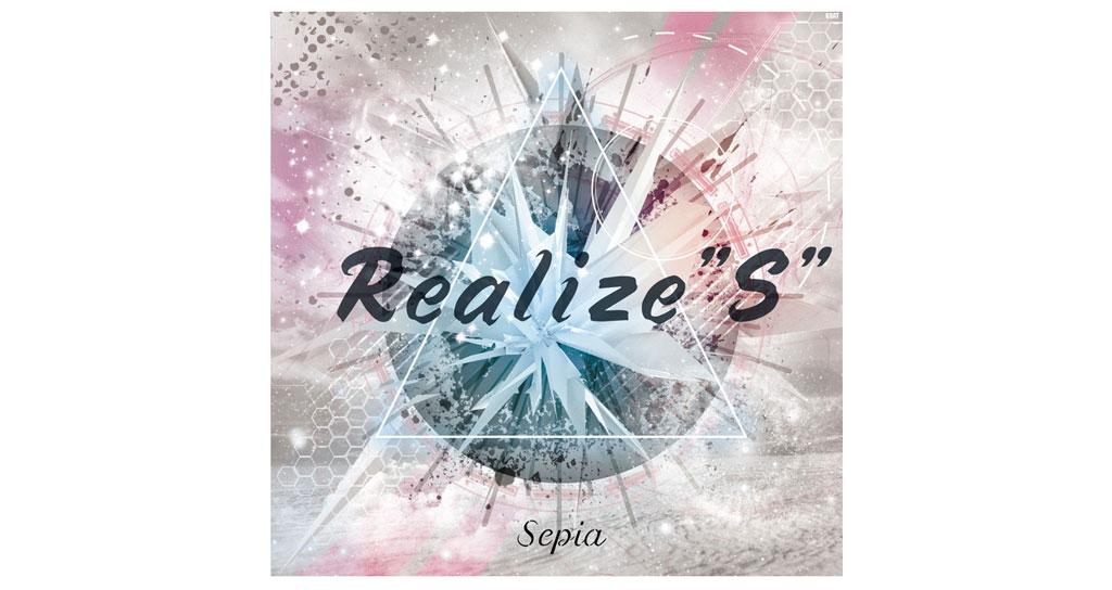 "Sepia CDジャケット Realize""S"""