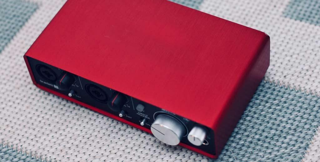 audio interface オーディオインターフェイス